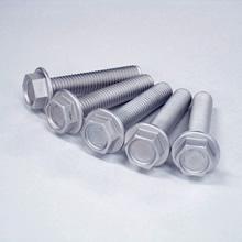 Magnesium alloy pan-head flat-head cross-recessed upset-hex-head