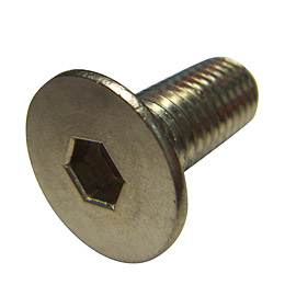 Ti Hex Socket Countersunk Flat Head Screw